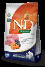 Farmina N&D Farmina N&D Pumpkin GF Lamb, Pumpkin & Blueberry Adult Med/Max Dog Food