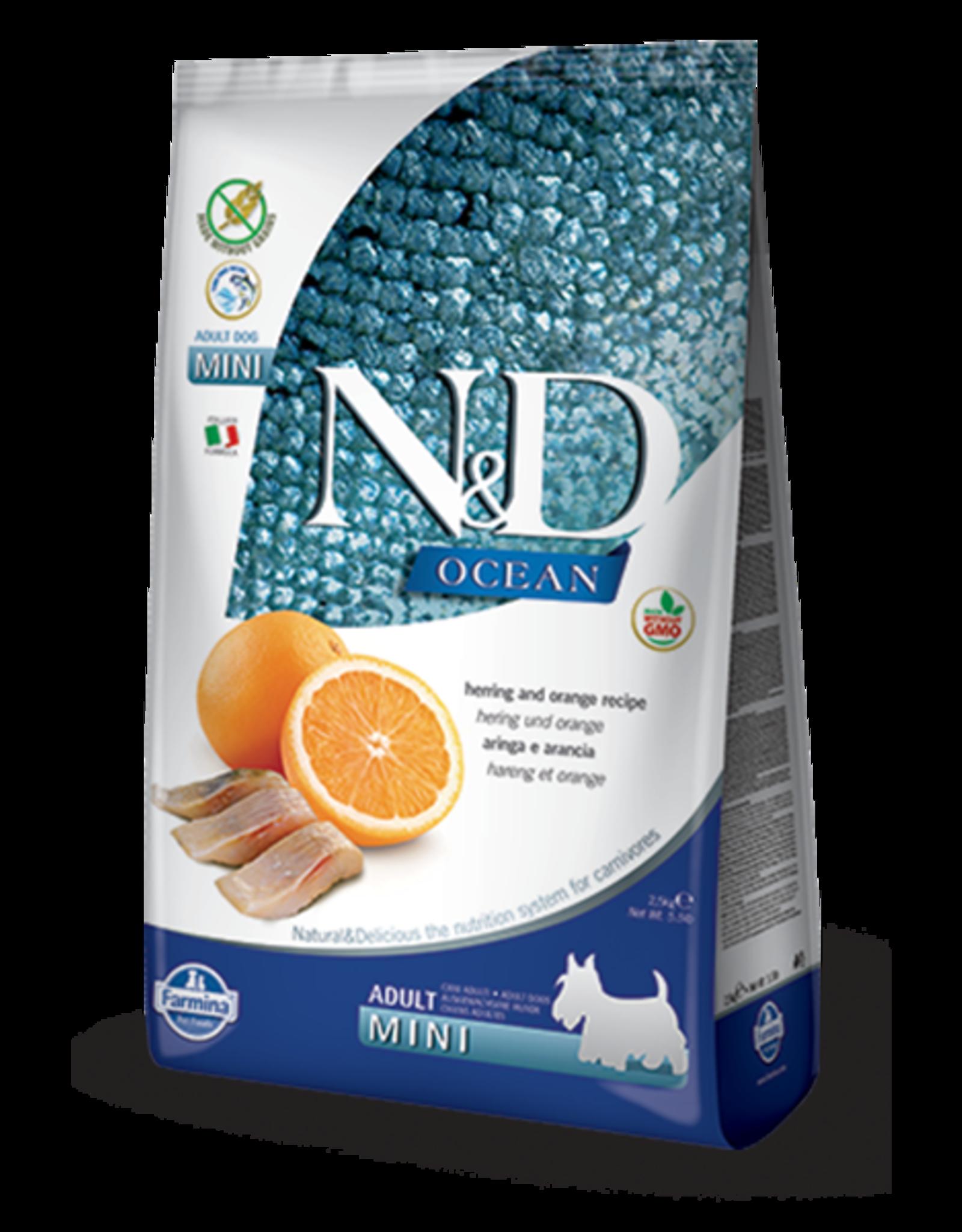 Farmina N&D Farmina N&D Ocean Herring & Orange Adult Mini Dog Food