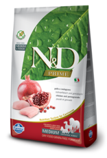 Farmina N&D Farmina N&D Prime Chicken & Pomegranate Adult Med/Max Dog Food