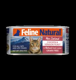 K9 Natural Feline Natural Chicken & Venison Feast 3oz