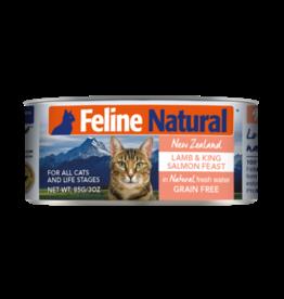 K9 Natural Feline Natural Lamb & Salmon Feast 3oz
