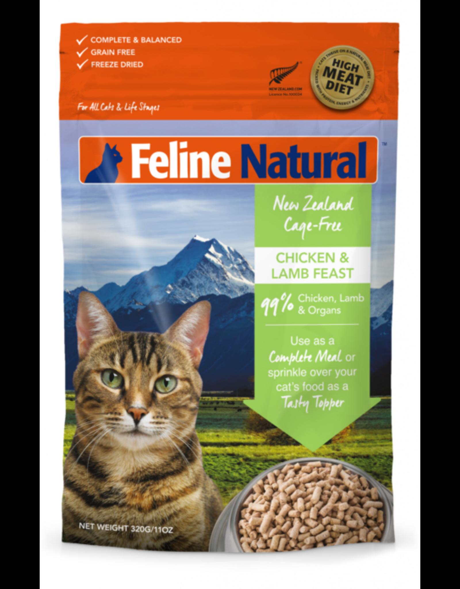 K9 Natural Feline Natural Freeze Dried Topper Chicken & Lamb 3.5oz