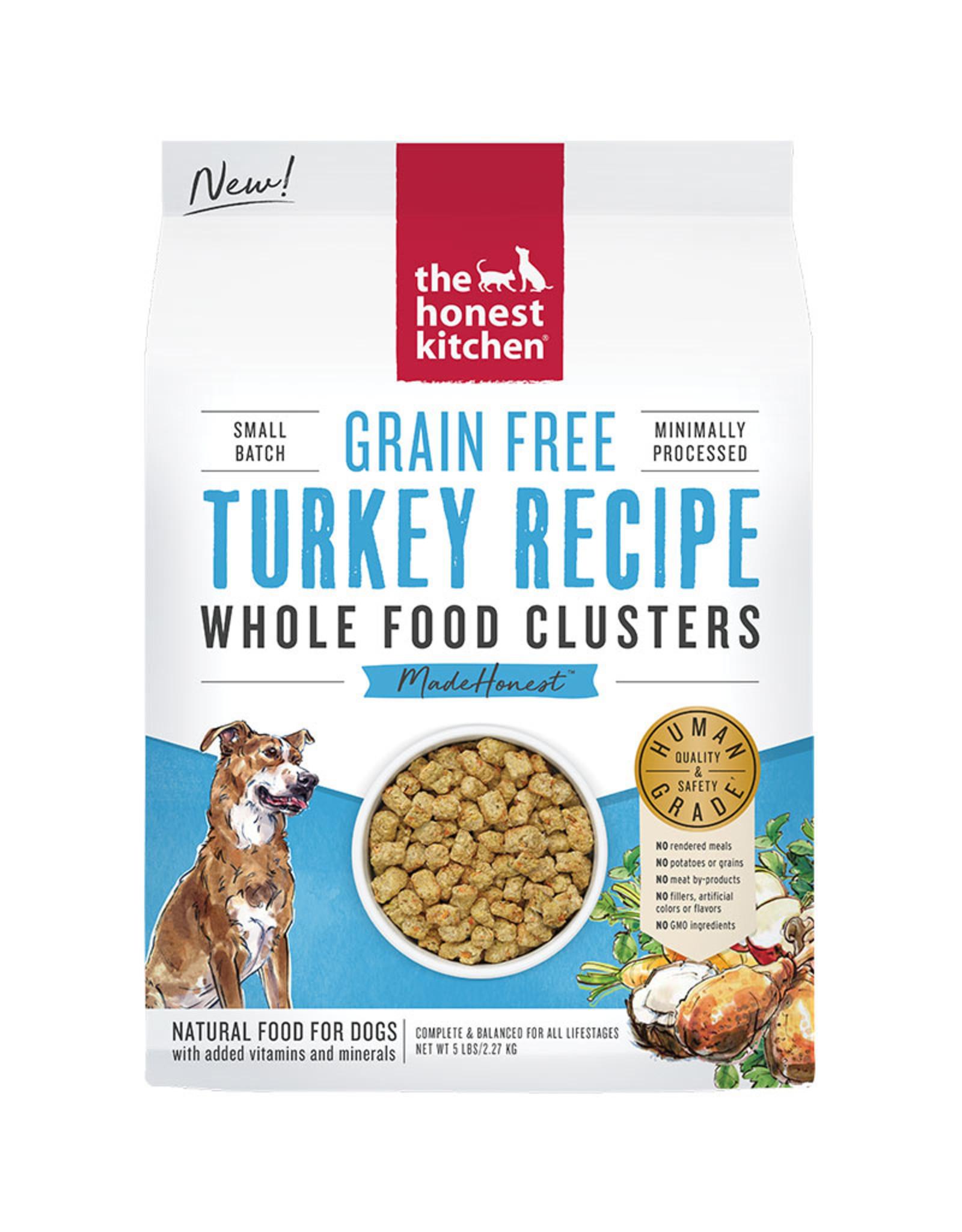 Honest Kitchen The Honest Kitchen Whole Food Clusters Grain Free Turkey Dog Food