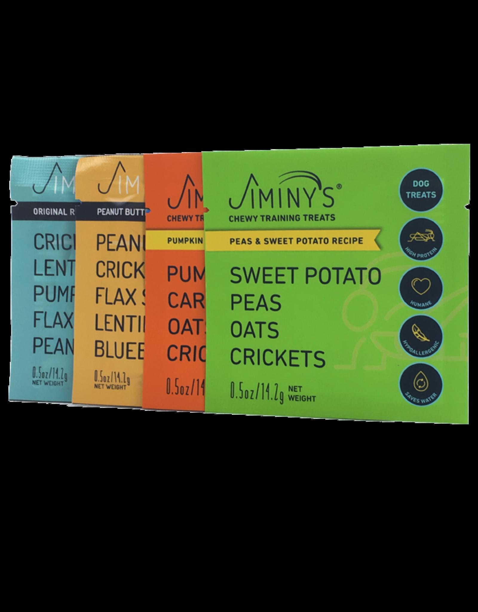 Jiminy's Jiminy's Sweet Potato & Peas Recipe Chewy Cricket Treat