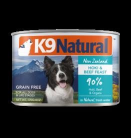 K9 Natural K9 Natural Hoki & Beef Feast Dog Food 6oz