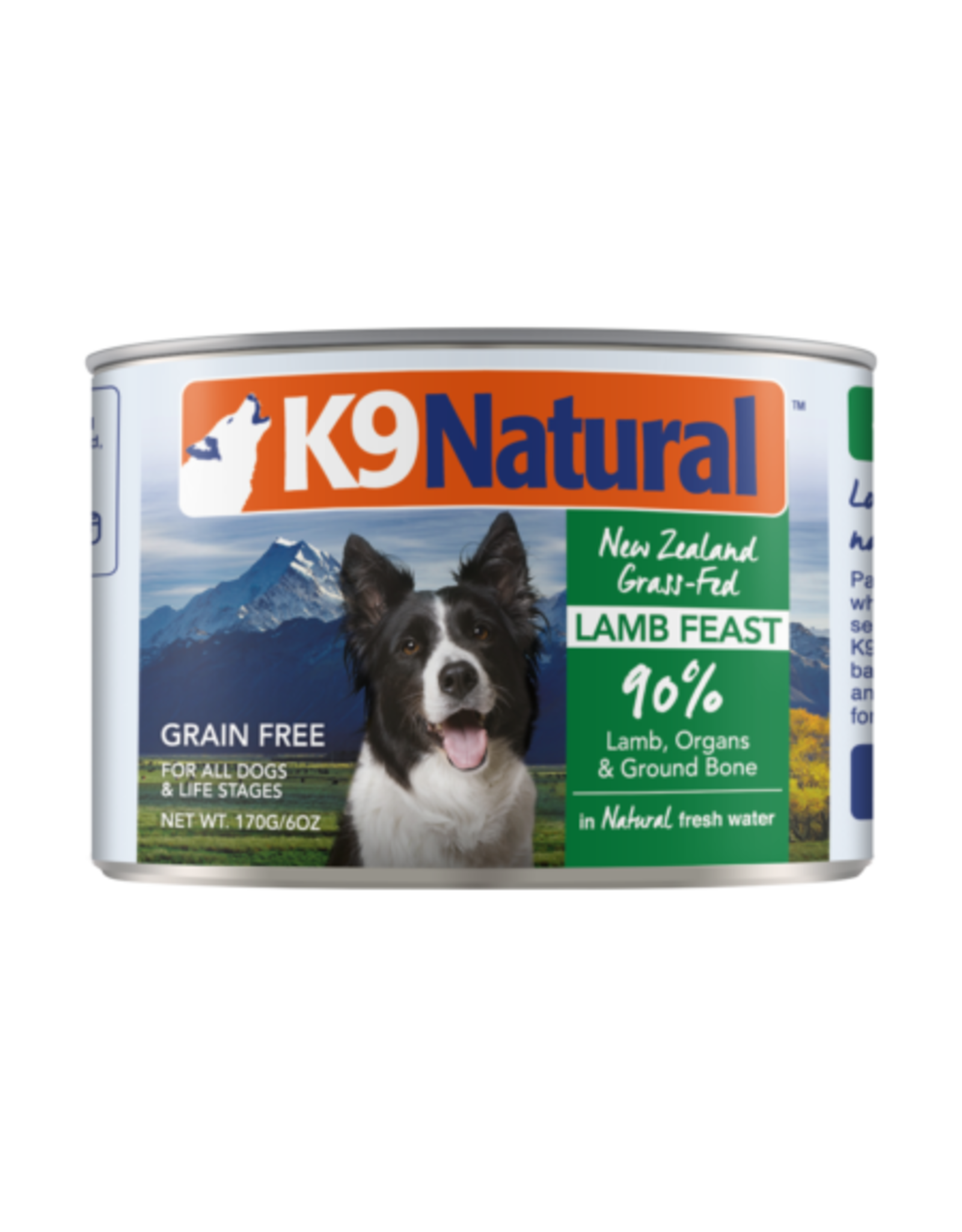 K9 Natural K9 Natural Lamb Feast Dog Food 6oz