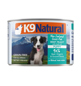 K9 Natural K9 Natural Puppy Beef Feast with Hoki Oil Dog Food 6oz