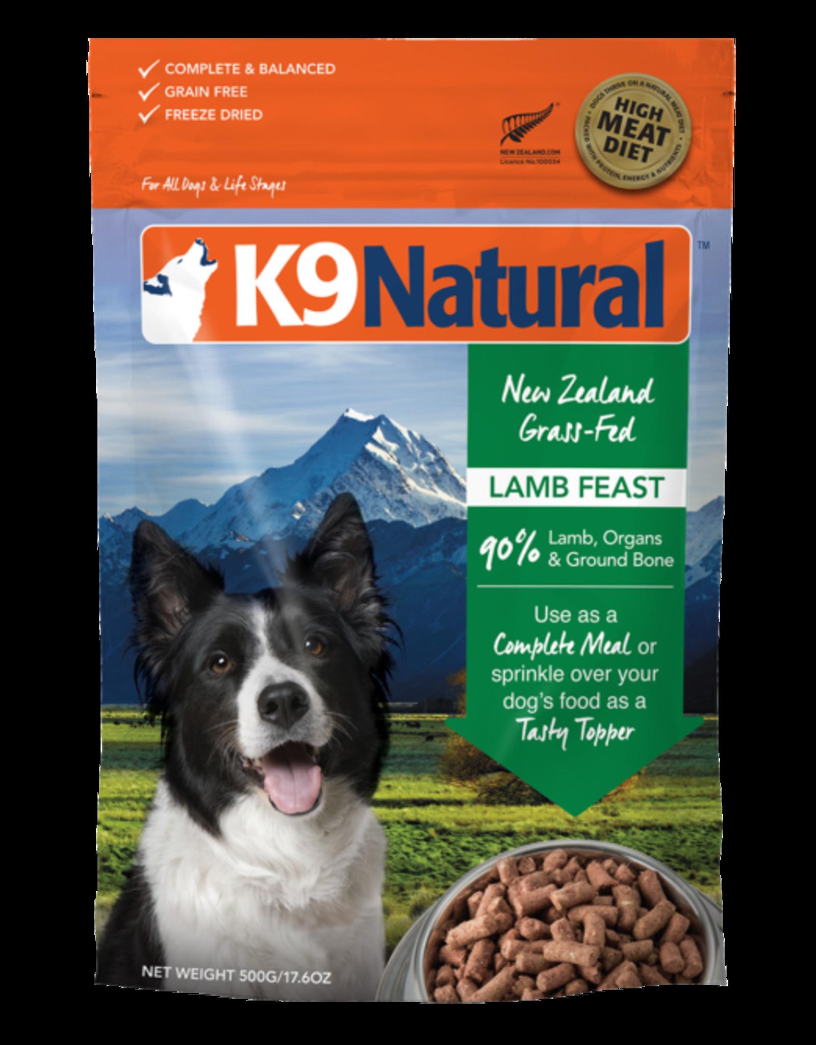 K9 Natural K9 Natural Freeze Dried Lamb Feast 1.1lb