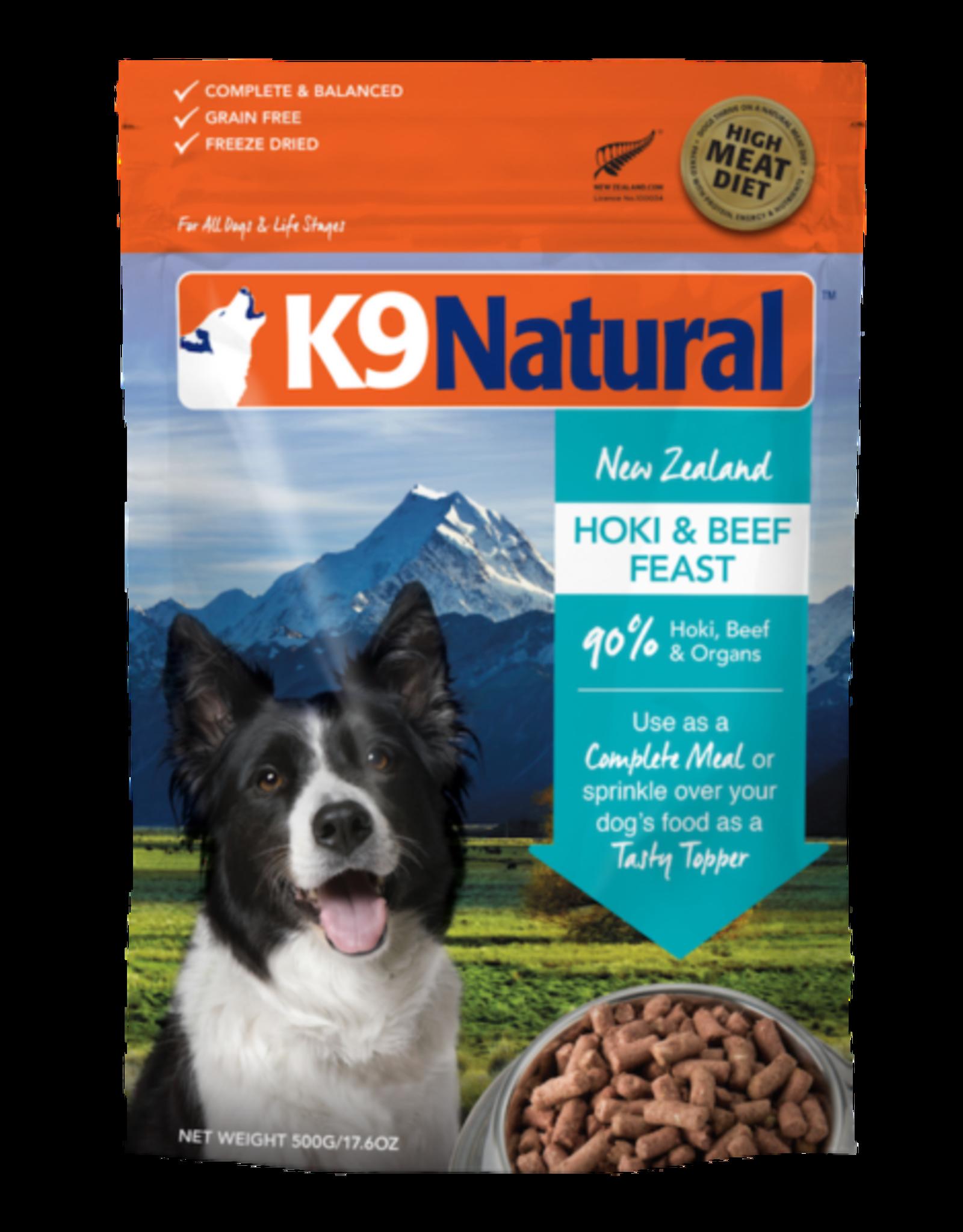 K9 Natural K9 Natural Freeze Dried Hoki & Beef Feast 1.1lb