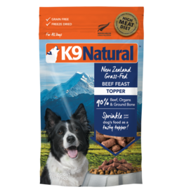 K9 Natural K9 Natural Freeze Dried Beef Feast Topper 5oz