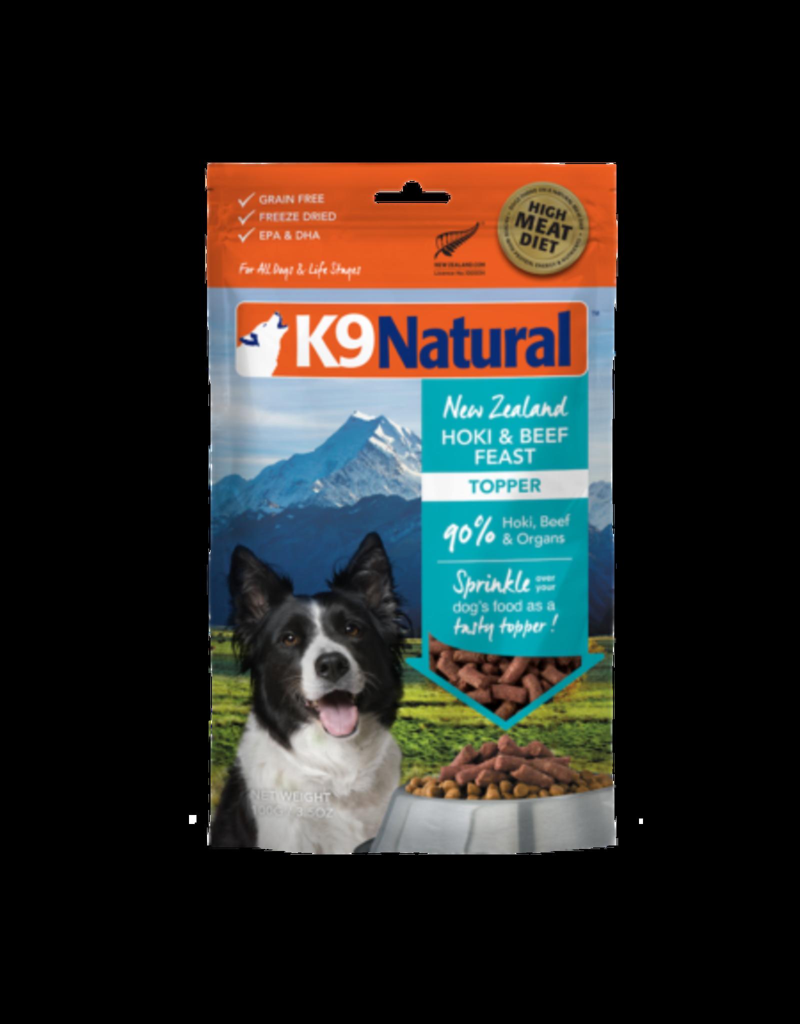 K9 Natural K9 Natural Freeze Dried Hoki & Beef  Feast Topper 3.5oz