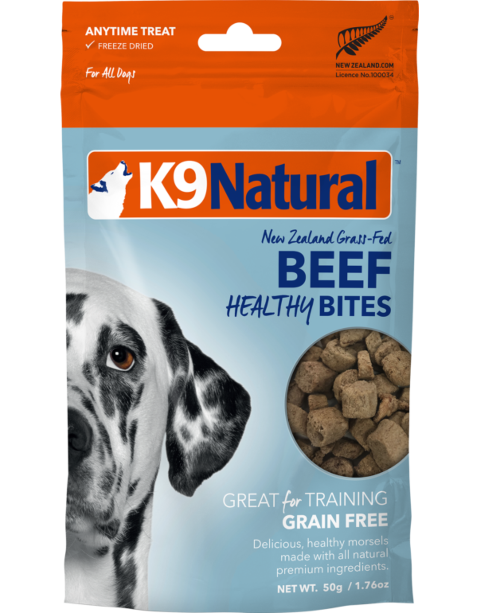 K9 Natural K9 Natural Freeze Dried Healthy Bites Beef 1.76oz