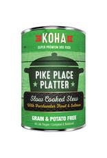 KOHA Koha Pike Place Platter Slow Cooked Stew Beef & Salmon Recipe Dog Food 12.7 oz