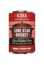 KOHA Koha Lone Star Brisket Slow Cooked Stew Beef Recipe Dog Food 12.7oz