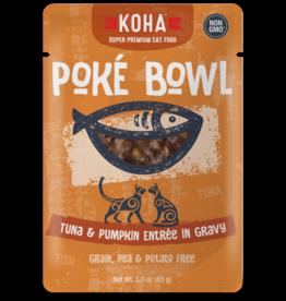 KOHA Koha Poke Bowl Tuna & Pumpkin Entree in Gravy Cat Food 3oz Pouch