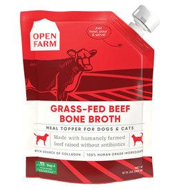 Open Farm Open Farm Grass-Fed Beef Bone Broth for Dogs & Cats 12 fl oz
