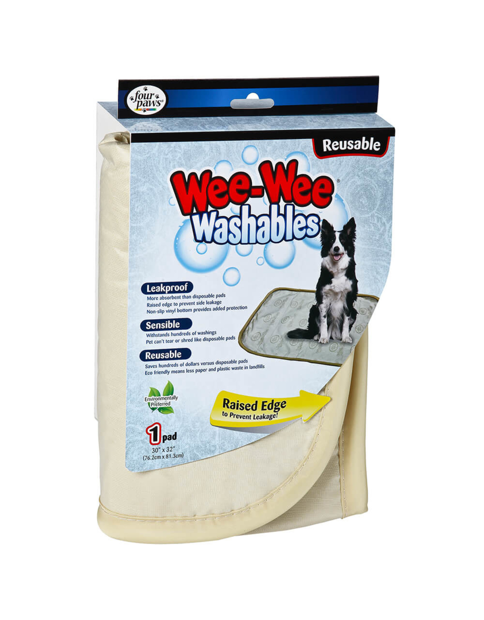 Four Paws Four Paws Wee-Wee Washable Pads LG 30x32