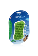 Furbliss Furbliss Green Brush for Small Pets w/Long Hair