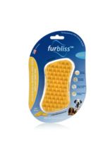 Furbliss Furbliss Yellow Brush for MD/LG Pets w/Short Hair
