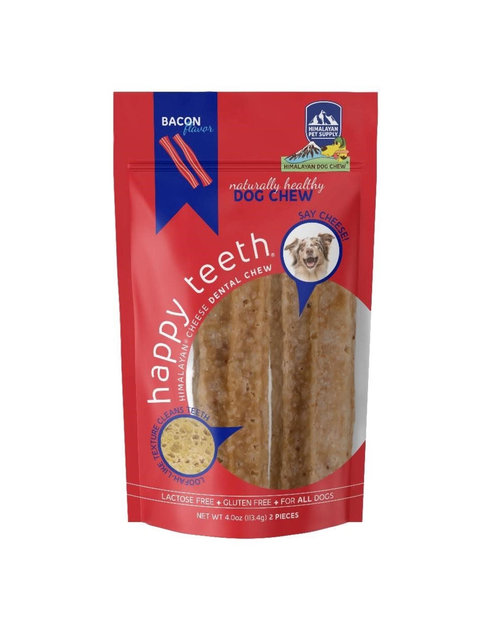 Himalayan Pet Himalayan Pet Dog Chew Happy Teeth Bacon Flavor - L