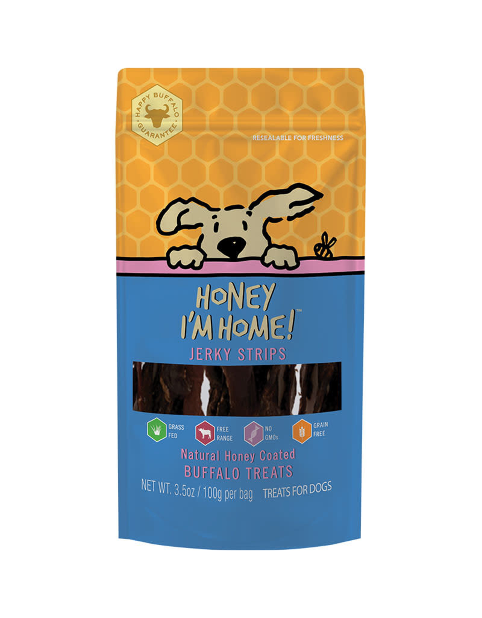 Honey I'm Home Honey I'm Home Buffalo Jerky Strips 3.5oz