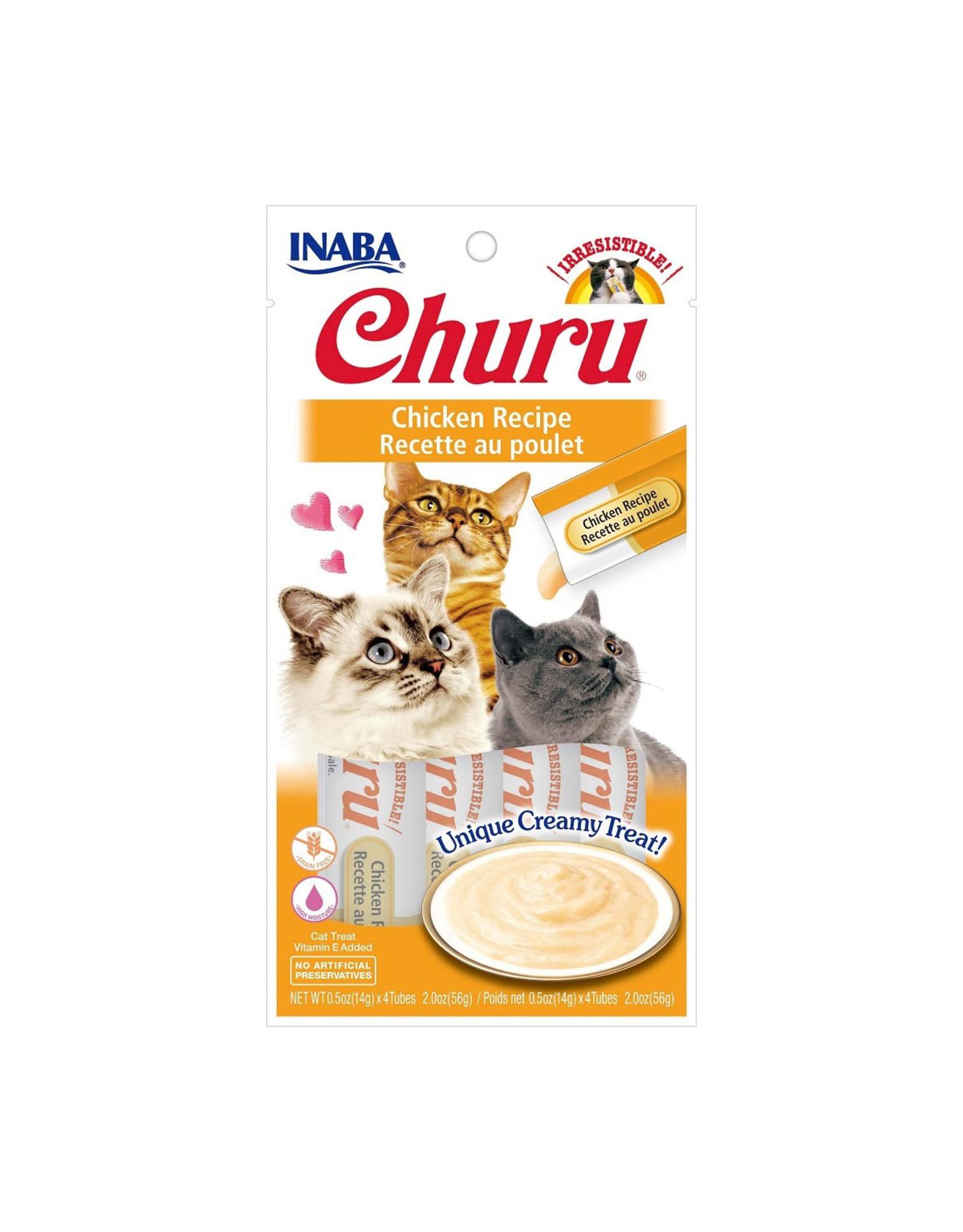 Inaba Inaba Churu Purees Chicken Recipe 4 tube pack