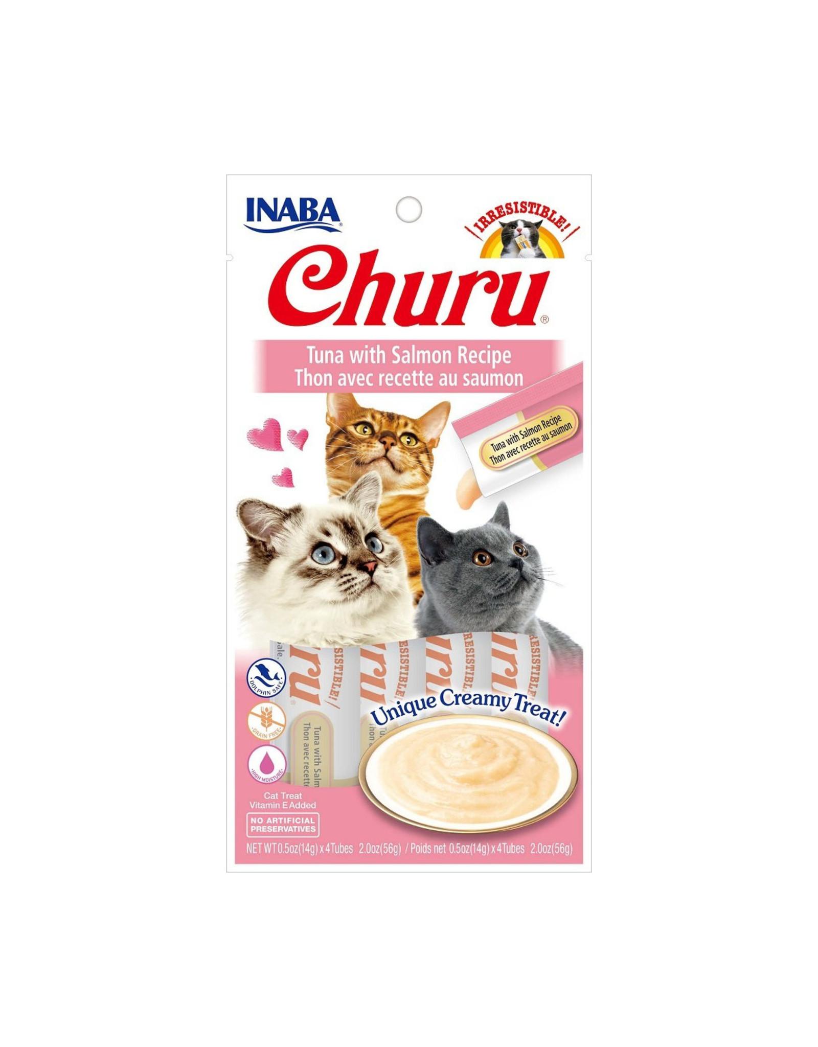 Inaba Inaba Churu Purees Tuna w/ Salmon 4 tube pack