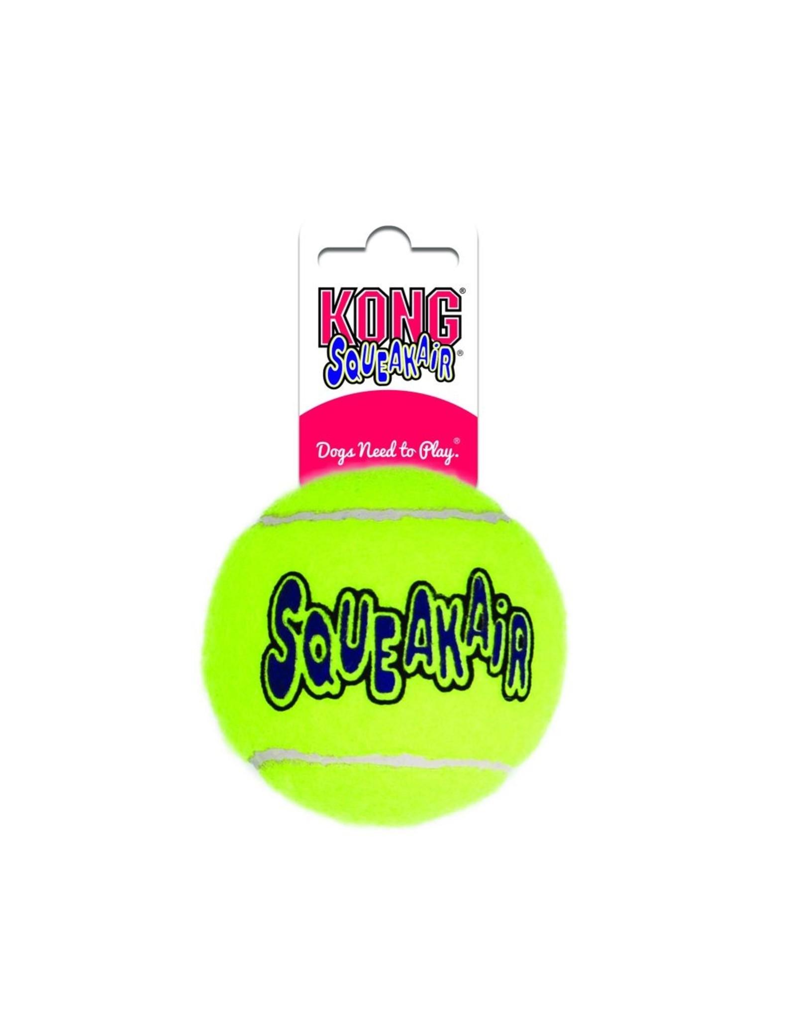 Kong Kong Airdog Squeaker Tennis Ball Med.