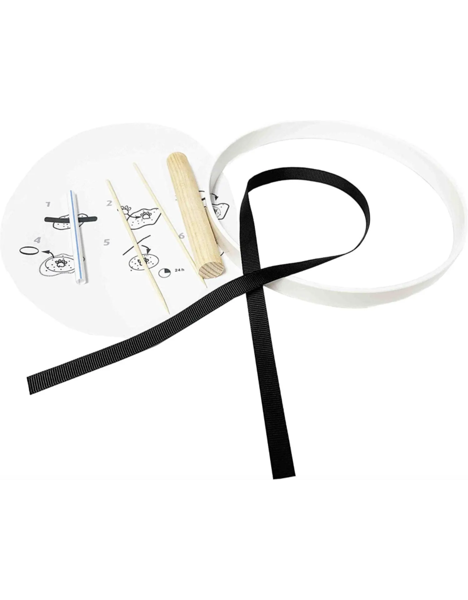 Midlee Designs Midlee Paw Print Clay Memory Kit / Keepsake Ornament