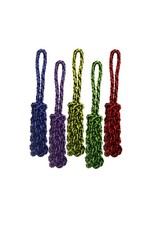 """Multipet Multipet Nuts For Knots Rope tug w/Braided Stick 16"""""""