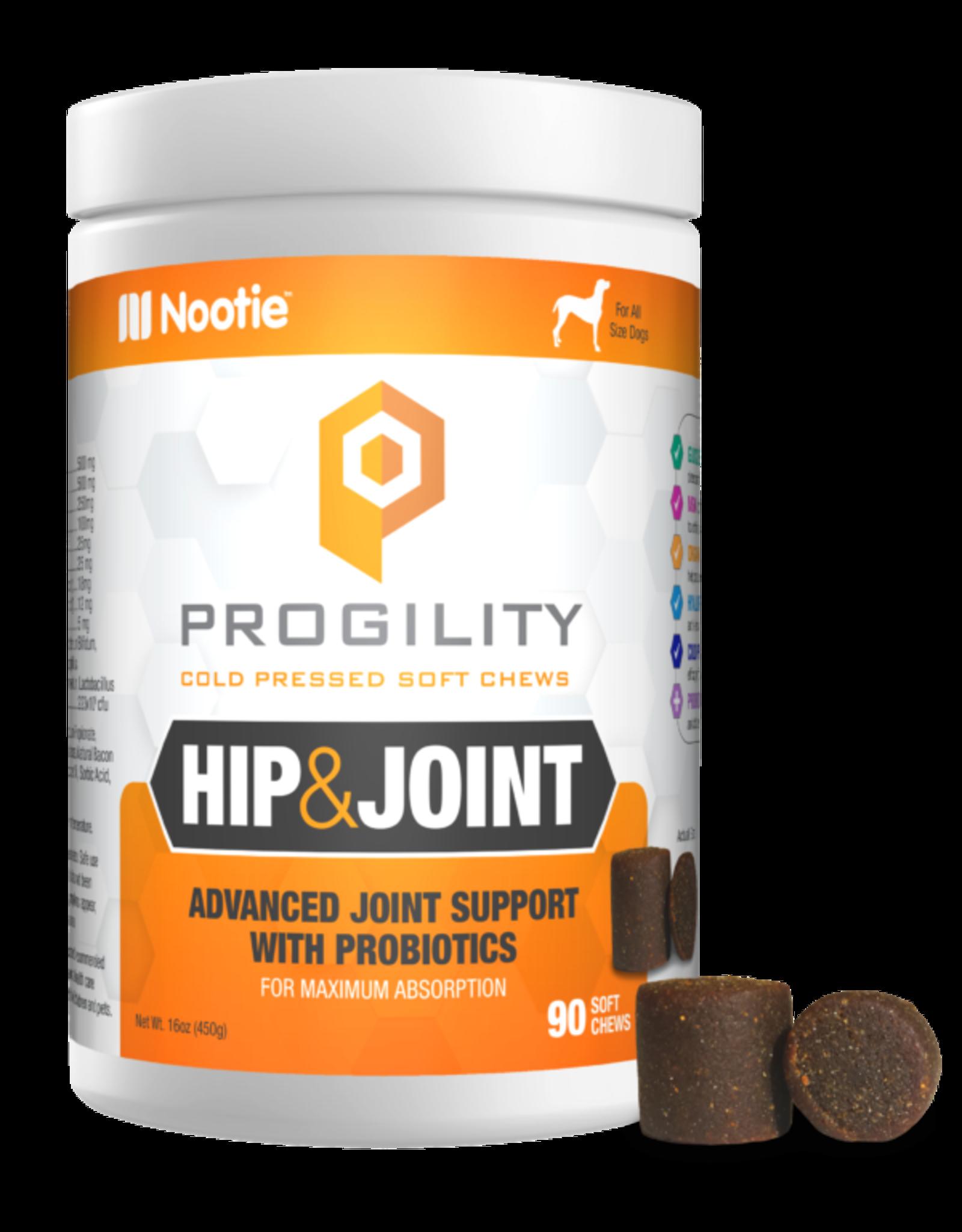 Nootie Nootie Progility Hip & Joint w/Probiotics Soft Chews 90ct