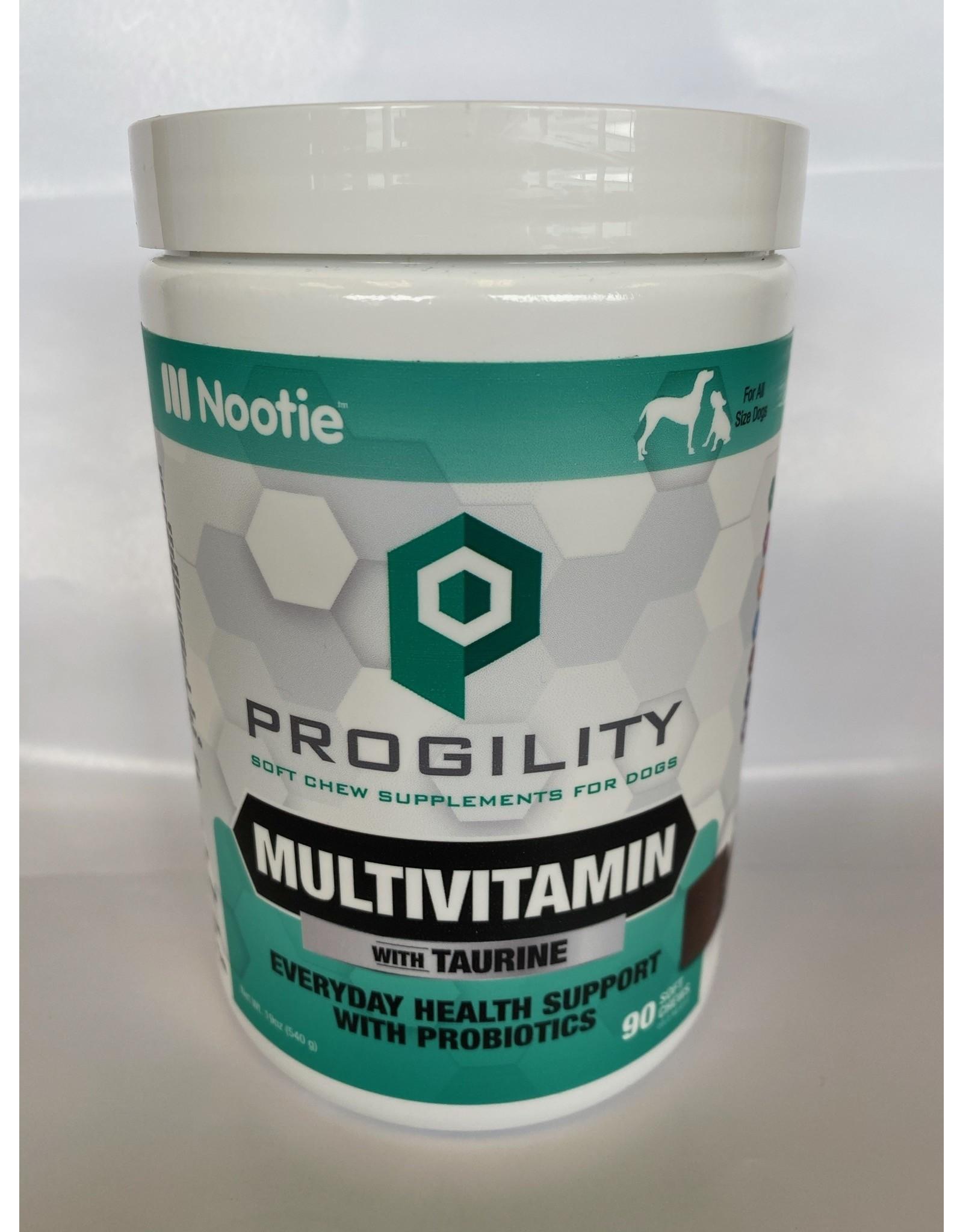 Nootie Nootie Progility Multi-Vitamin w/Taurine & Probiotics Soft Chew 90ct