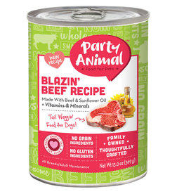 Party Animal Party Animal Blazin Beef Recipe Dog Food 13oz