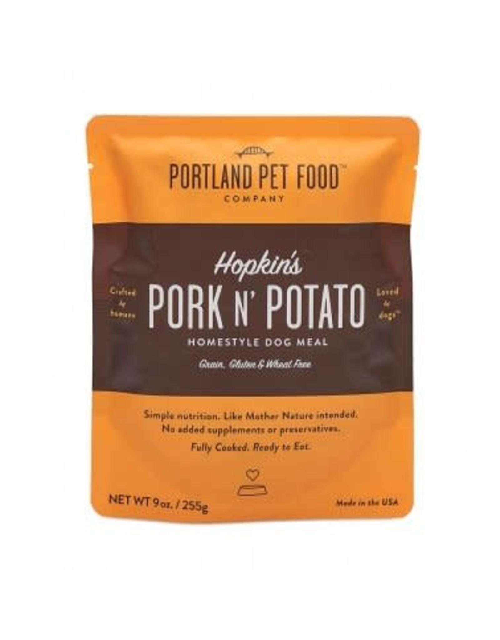 Portland Pet Food Portland Pet Food Hopkin's Pork N Potato Homestyle Dog Meal 9oz