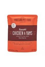 Portland Pet Food Portland Pet Food Tuxedo's Chicken & Yams Homestyle Dog Meal 9oz