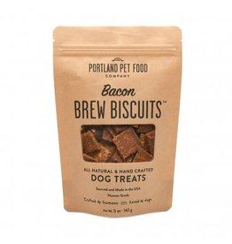 Portland Pet Food Portland Pet Food  Bacon Brew Biscuits Dog Treats 5oz