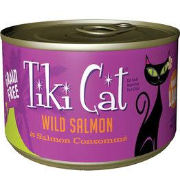 Tiki Cat Tiki Cat Hanalei Luau Wild Salmon Cat Food 6oz