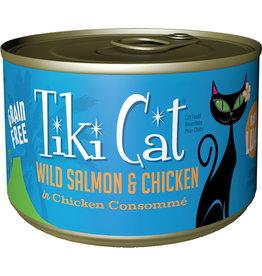 Tiki Cat Tiki Cat Napili Luau Salmon & Chicken Cat Food 6oz