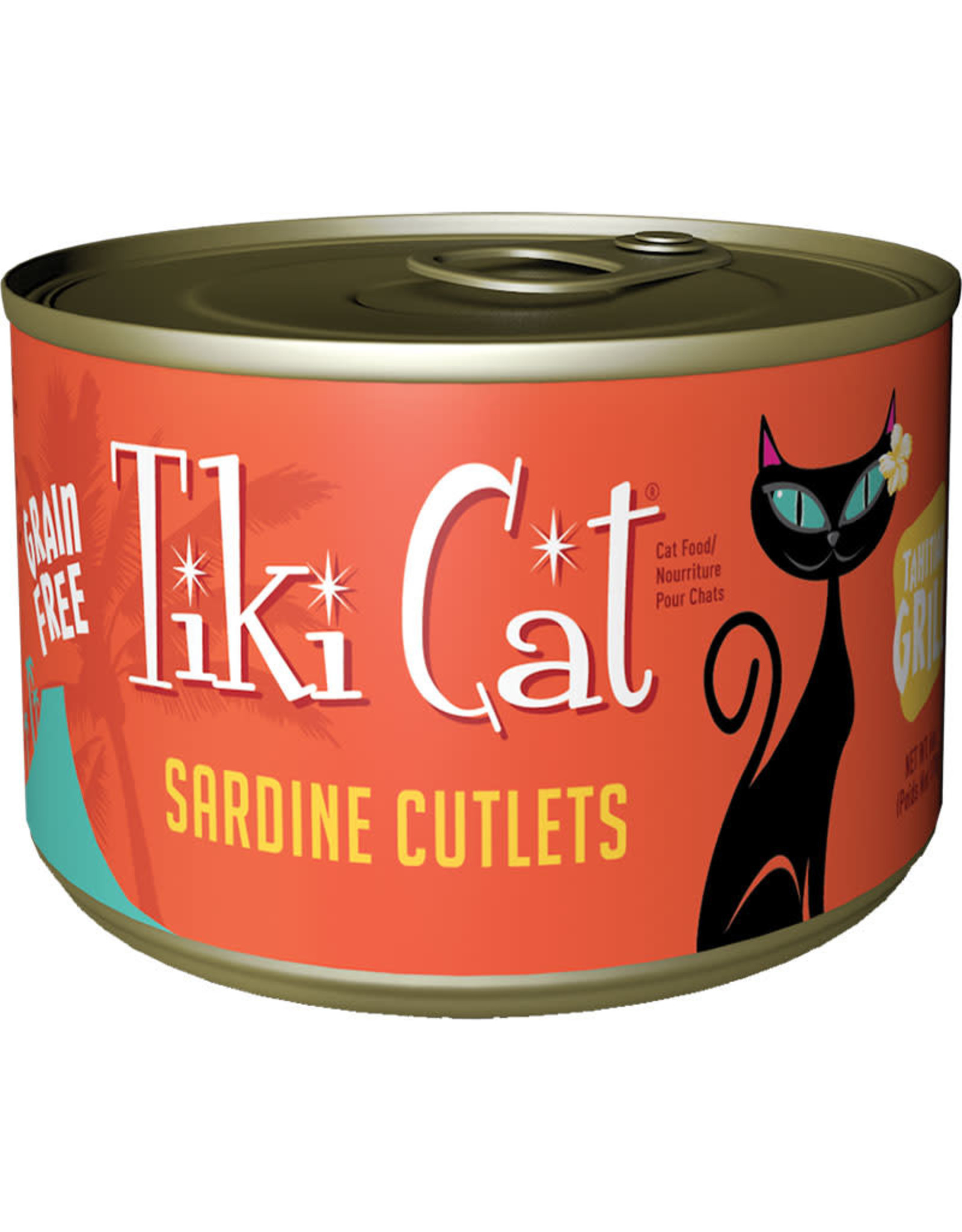 Tiki Cat Tiki Cat Tahitian Grill Sardine Cutlets Cat Food 6oz
