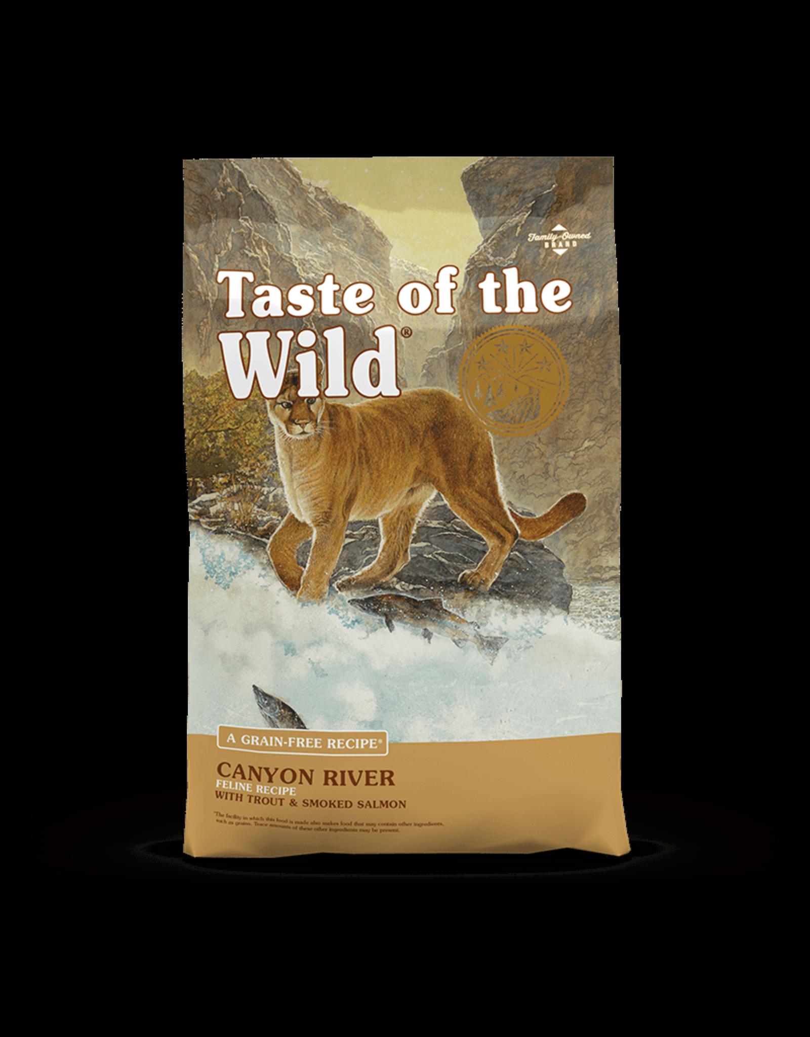 Taste of the Wild Taste of the Wild Canyon River Feline Recipe w/ Trout & Smoked Salmon 5lb