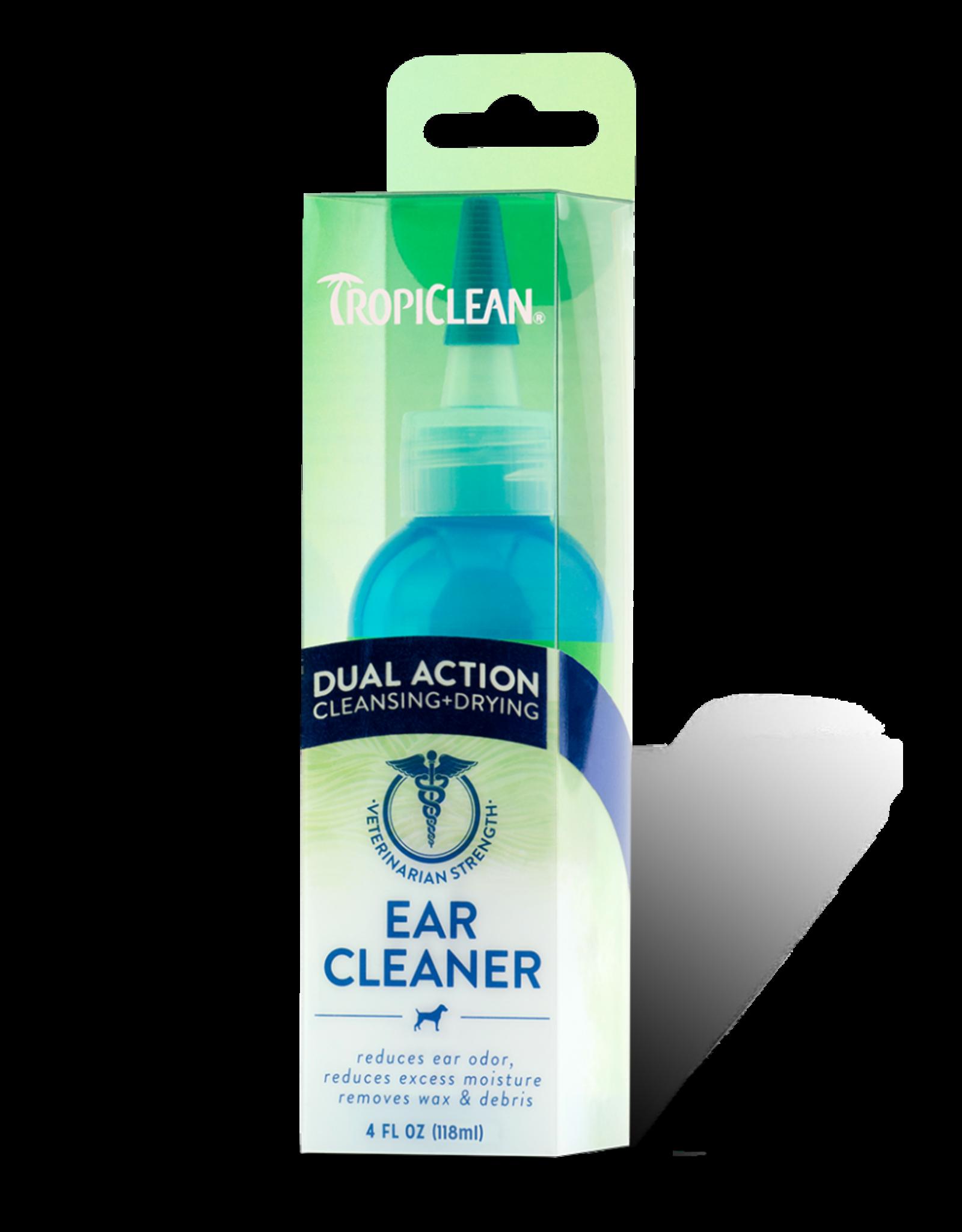 Tropiclean Tropiclean Dual Action Ear Cleaner 4oz