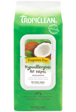 Tropiclean Tropiclean Hypo-Allergenic Deodorizing Pet Wipes 100ct