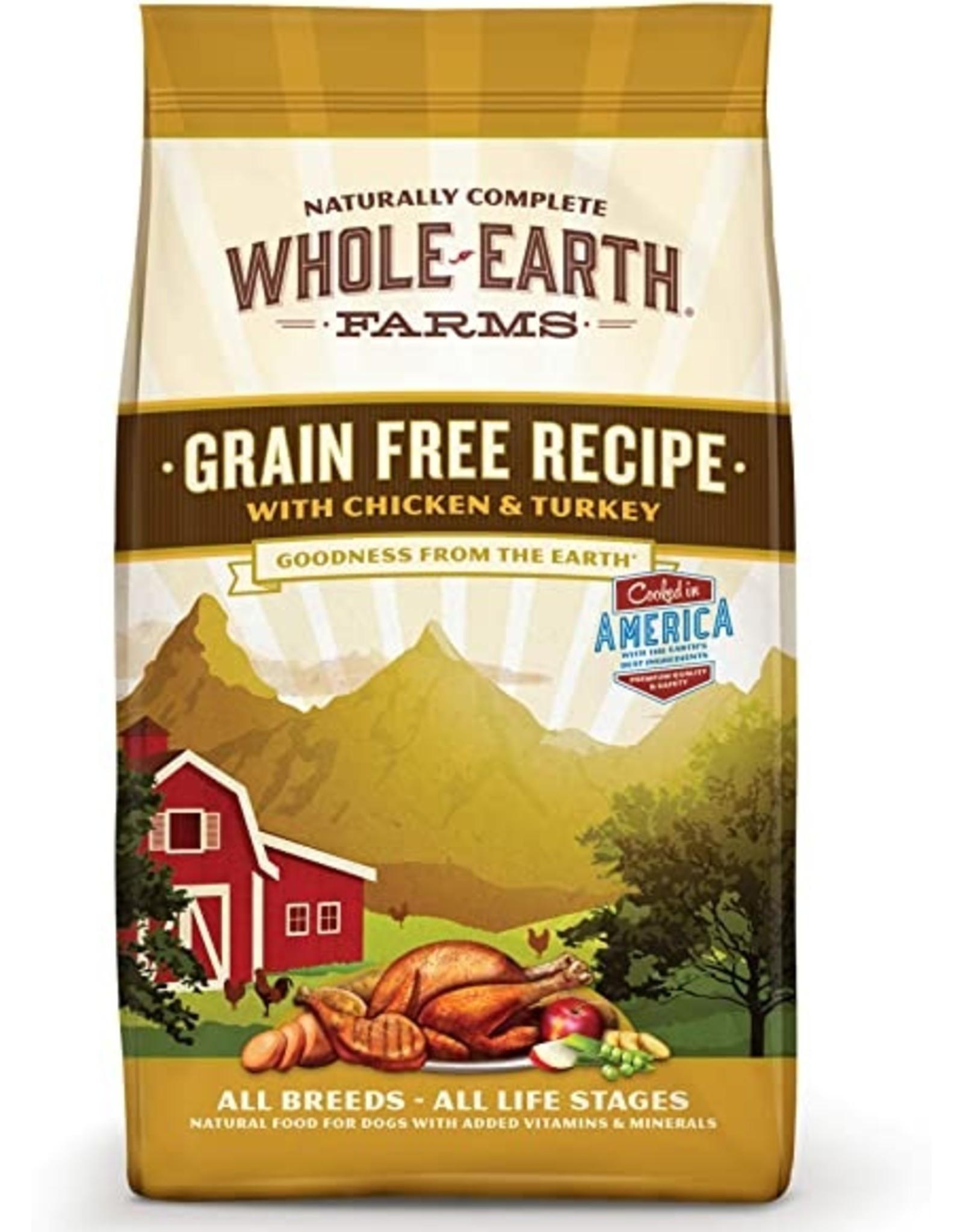 Merrick Whole Earth Farms Grain Free Recipe with Chicken & Turkey