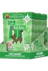 Weruva Weruva Cats in the Kitchen Chick Magnet Chicken & Mackerel in Gravy Cat Food 3oz Pouch