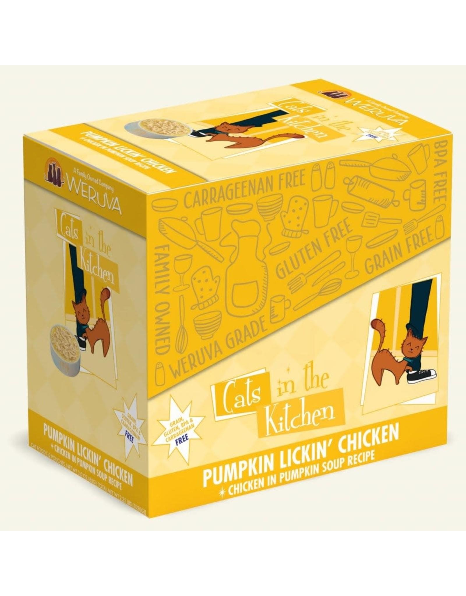 Weruva Weruva Cats in the Kitchen Pumpkin Lickin Chicken Chicken in Pumpkin Soup Cat Food 3oz Pouch