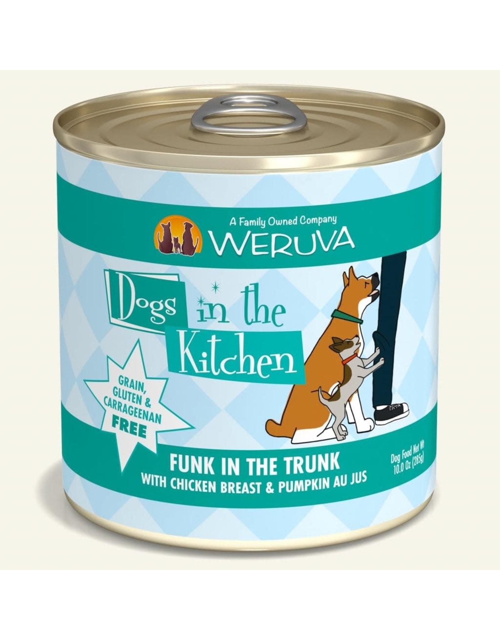Weruva Weruva Dogs in the Kitchen Funk in the Trunk Chicken & Pumpkin Au Jus Dog Food 10oz