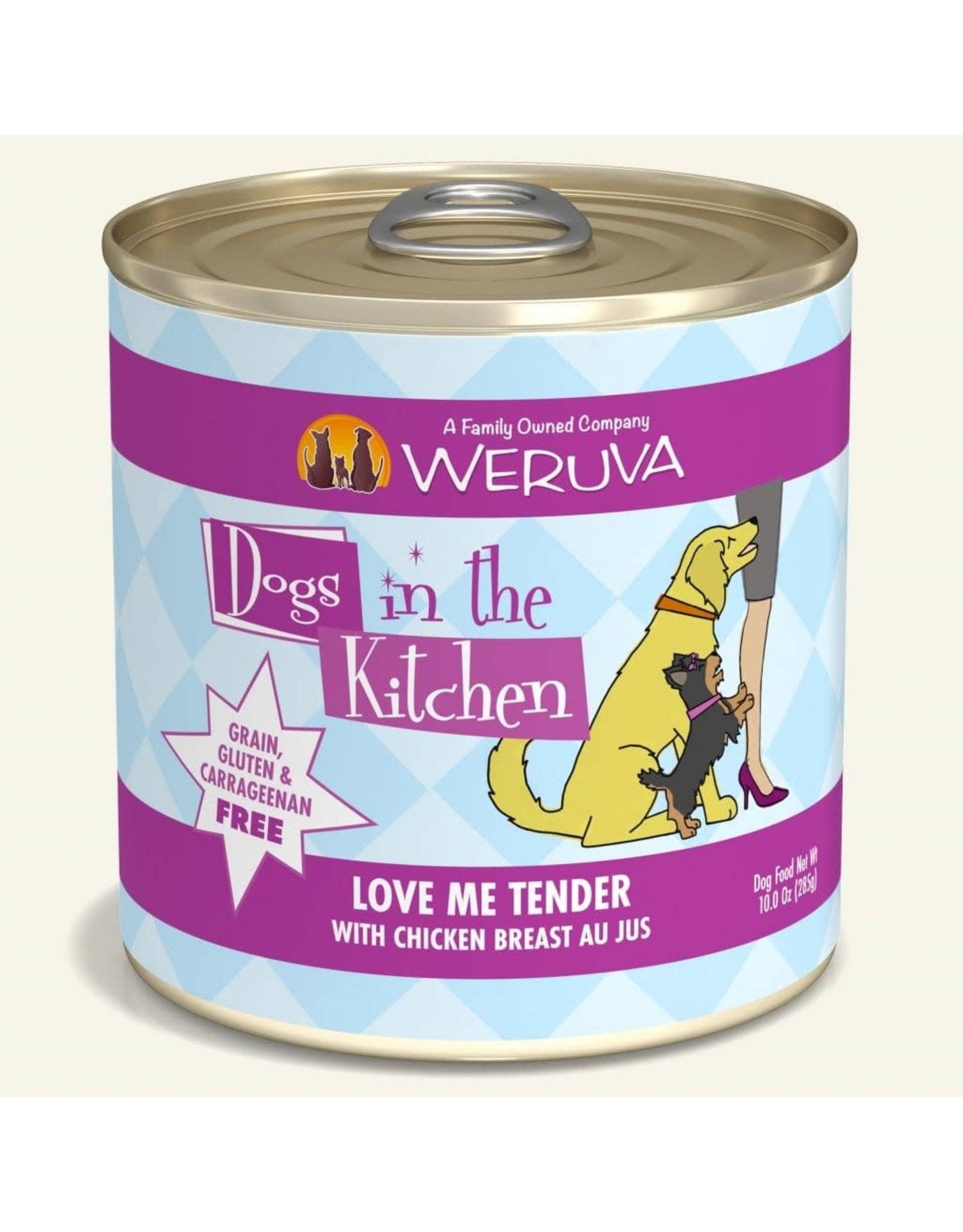 Weruva Weruva Dogs in the Kitchen Love Me Tender Chicken Breast Au Jus Dog Food 10oz