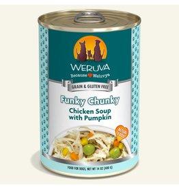 Weruva Weruva Funky Chunky Chicken Soup with Pumpkin Dog Food 14oz