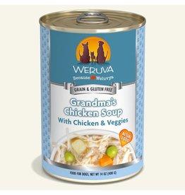 Weruva Weruva Grandma's Chicken Soup Chicken & Veggies Dog Food 14oz