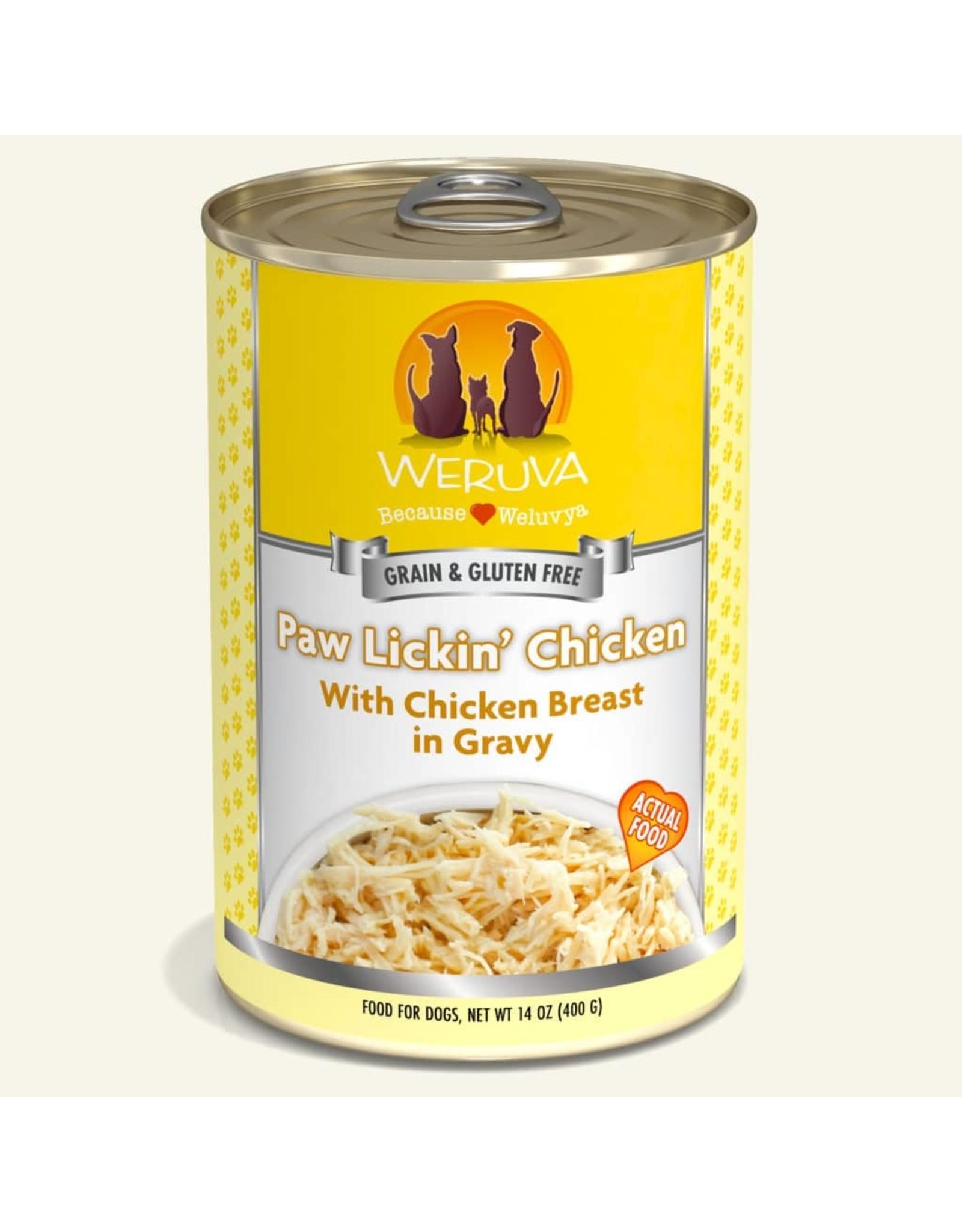 Weruva Weruva Paw Lickin Chicken with Chicken Breast in Gravy Dog Food 14oz